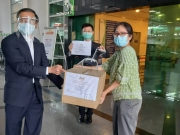 Donation Handing-Over of Face-Shields from Members of MPMA and MPA to PPUM, 12 May 2020